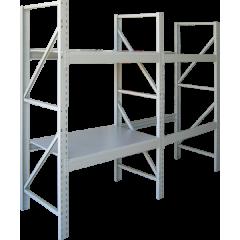 Стеллаж металлический складской СС 2000х1250х800 | 3п | 400кг