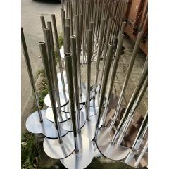 Шампур для шаурмы из нержавеющей стали (вертикальный вертел)