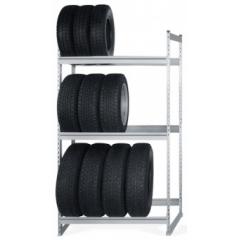Стеллаж для хранения автомобильных шин 2000х1500х400