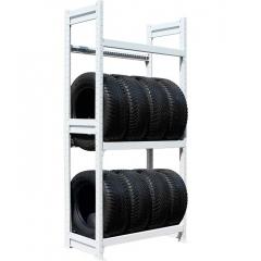 Стеллаж для хранения автомобильных шин 2000х1200х400