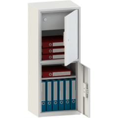 Шкаф металлический офисный МШЛ 110/2Т
